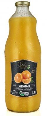 Suco de laranja integral orgânico - 1,5 Litros