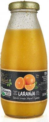 Suco de laranja integral orgânico - 300 ml