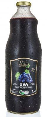 Suco de uva integral orgânico - 1,5 Litros