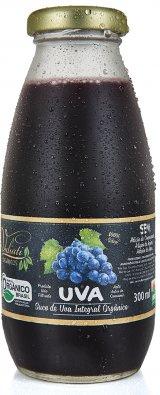 Suco de uva integral orgânico - 300 ml