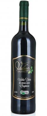 Vinho tinto de mesa seco orgânico - 750 ml